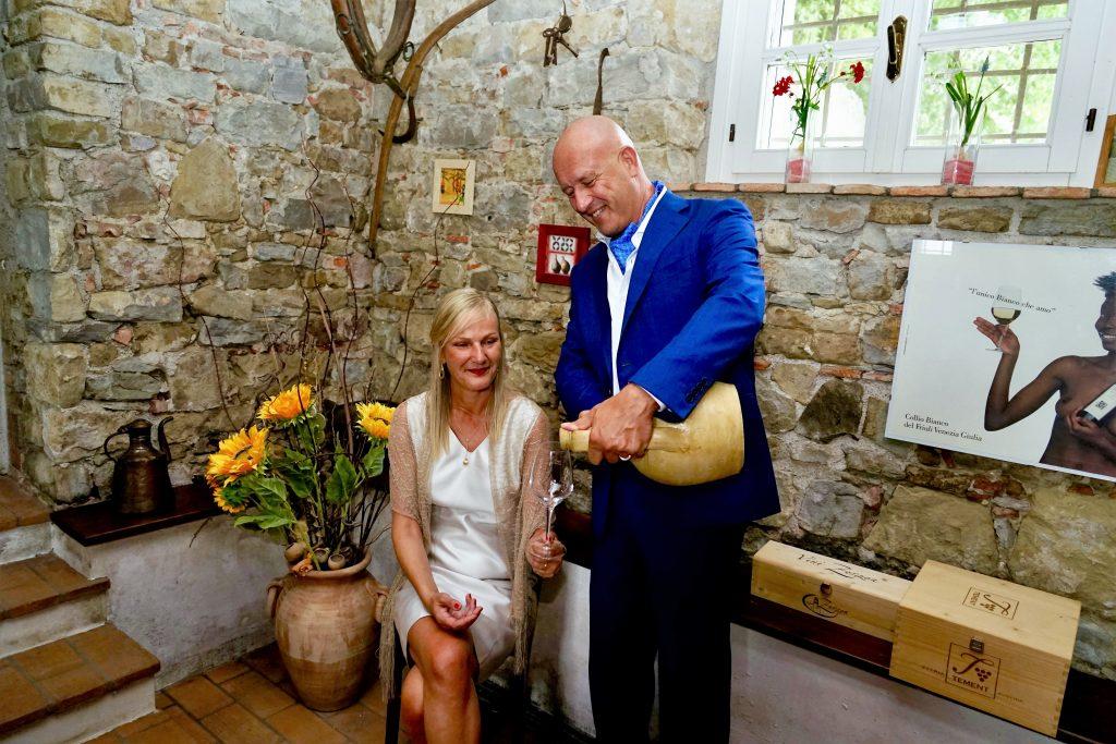 Petra Lind und Giorgio Deganis