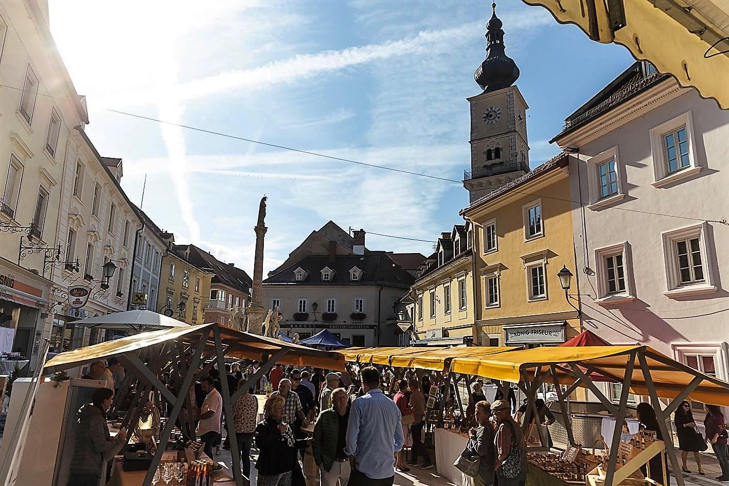 Markt in Wolfsberg