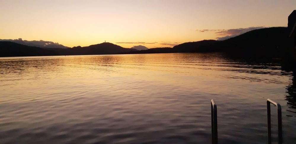 Sonnenuntergang Albatros